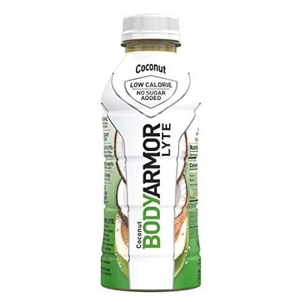 BODYARMOR LYTE Sports Drink Low-Calorie Sports Beverage, Coconut...