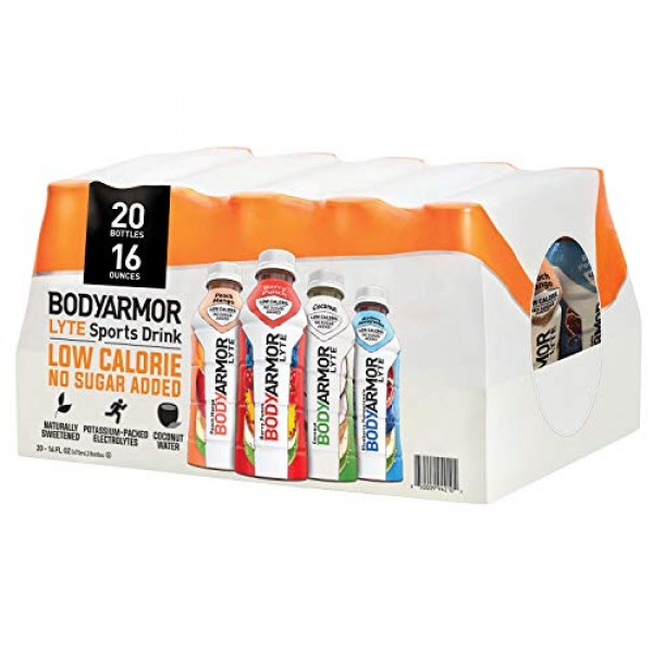 BodyArmor Lyte Variety Pack Of 4 Flavors Sports Drink 20 Pack Of...