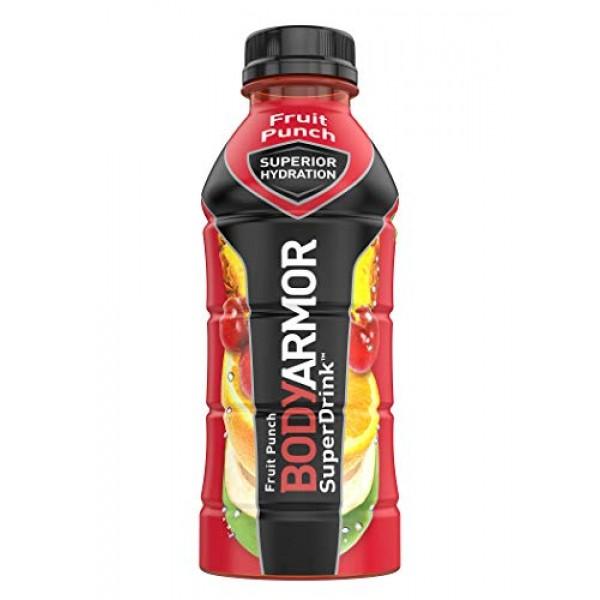 BODYARMOR Sports Drink Sports Beverage, Fruit Punch, Natural Fla...