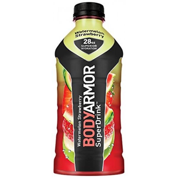 BodyArmor SuperDrink, Electrolyte Sport Drink, 28 oz, Pack of 12...