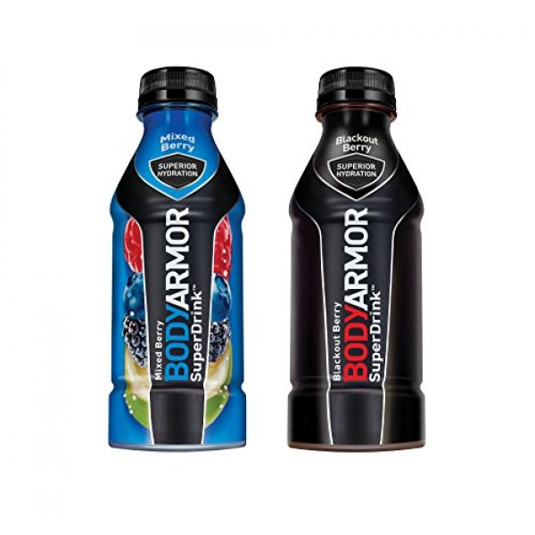 BodyArmor SuperDrink, Electrolyte Sport Drink, Mixed Berry & Bla...