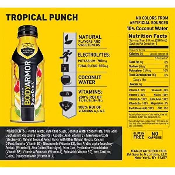 BODYARMOR Sports Drink Sports Beverage, Orange Mango, Natural Fl...