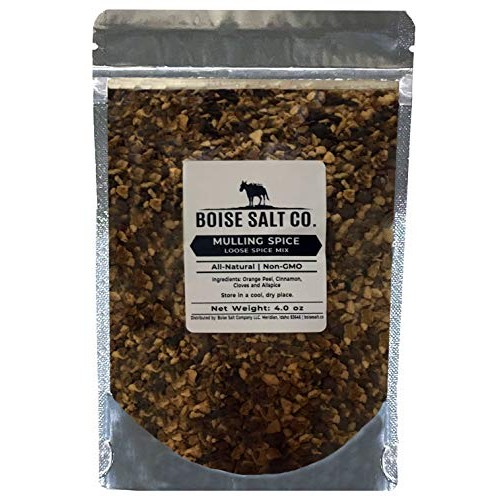Boise Salt Co. Mulling Spice Mix - 4 Ounce Standup Resealable Pouch