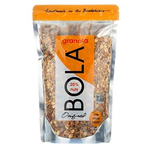 BOLA granola Original, Crunchy Almond & Pepitas, 16 Ounce Bags...
