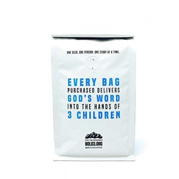 BOLD3 Coffee Christian Gift, Fair Trade Organic Specialty coffee...