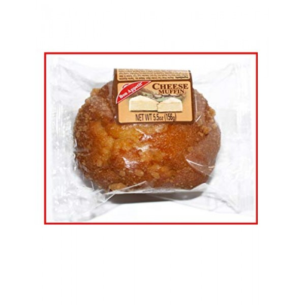 Bon Appetit Cheese Muffin, 5.5 Ounce Pack of 8