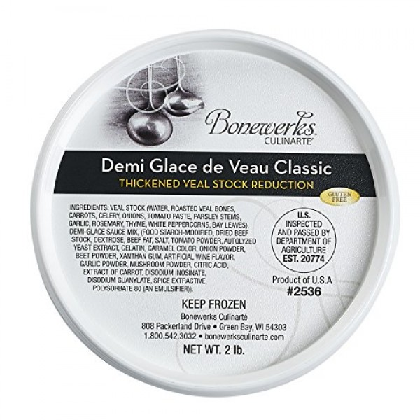 Bonewerks Culinarte Demi Glace de Veau Classic Thickened Veal S...