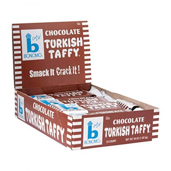 Bonomos Turkish Taffy - Chocolate 24ct.