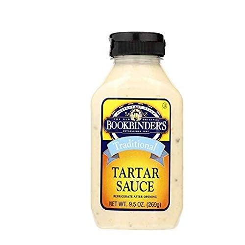 Bookbinders Sauce Tartar, 9.5 Ounce Pack of 2