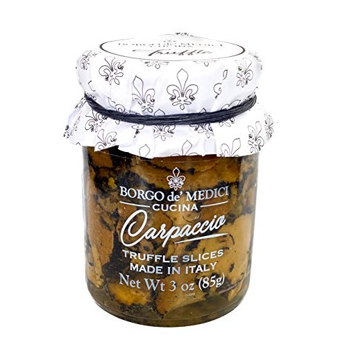 Borgo de Medici Carpaccio Black Summer Italian Truffle Slices - ...