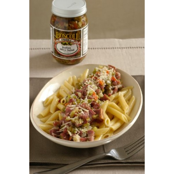 Boscoli Family Italian Olive Salad, 15.5 oz.