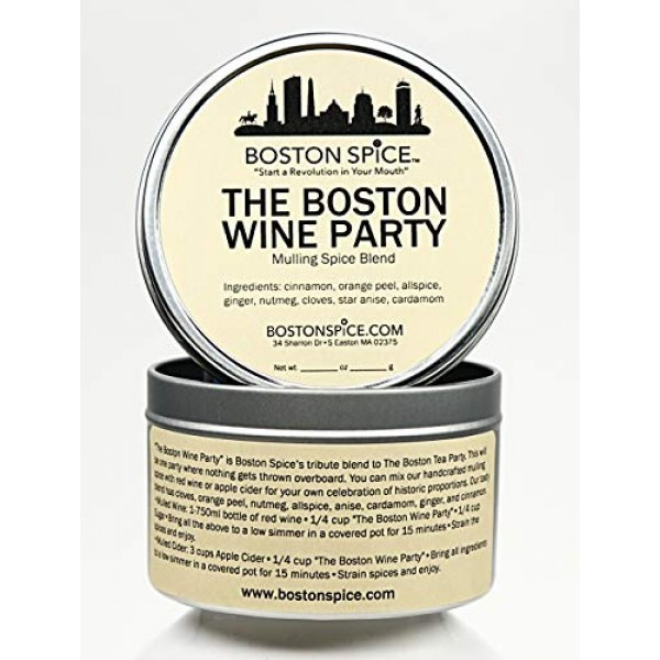 Boston Spice The Boston Wine Party Mulling Spice Blend for Makin...