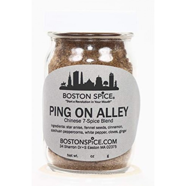 Boston Spice Ping On Alley Gourmet Oriental Asian Chinese Seven ...