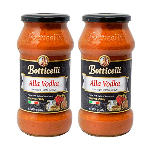 Botticelli Alla Vodka Pasta Sauce - 2 Pack Premium Italian Spa...