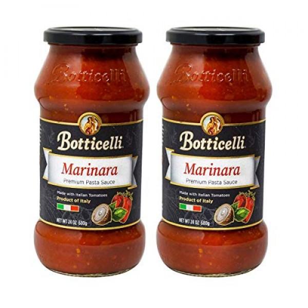 Botticelli Premium Italian Marinara Sauce Pack of 2 - Pasta Sa...