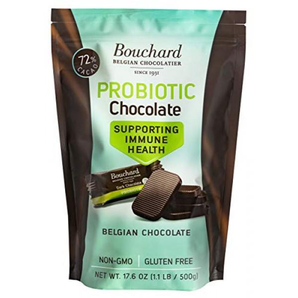 Bouchard Probiotic Chocolate - Supporting Immune Health - 72% Ca...