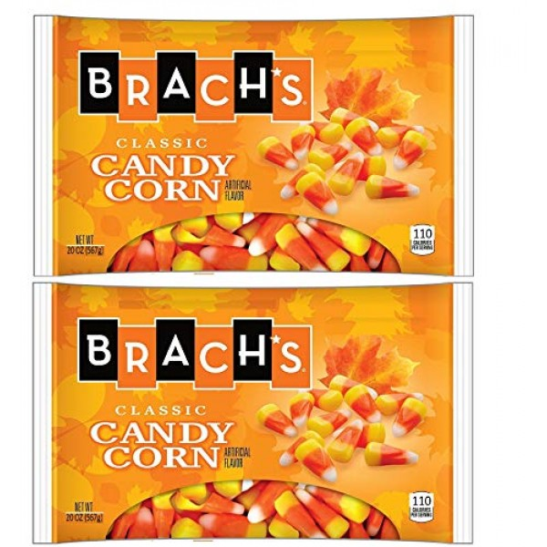 Brachs Classic Candy Corn - 40oz Total Included