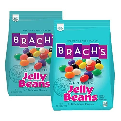 Brachs Classic Jelly Beans, Assorted Flavors, 3.38 Pound Bulk C...