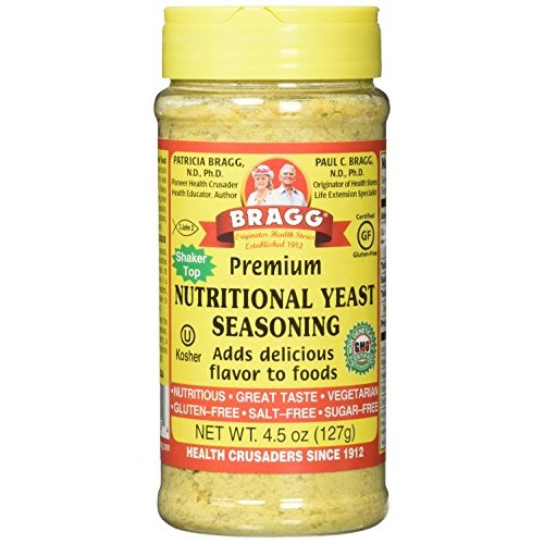Braggs Nutritional Yeast 4.5oz 2 Pack