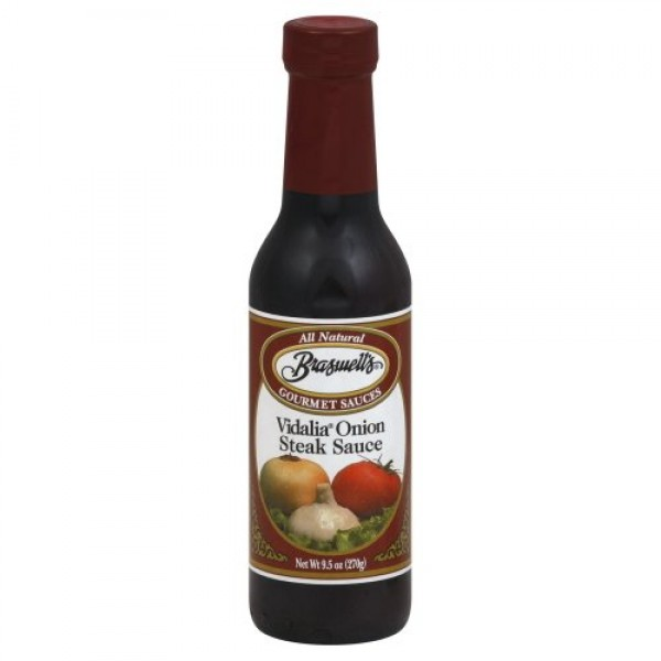 Braswells Vidalia Onion Steak Sauce 9.5 Oz