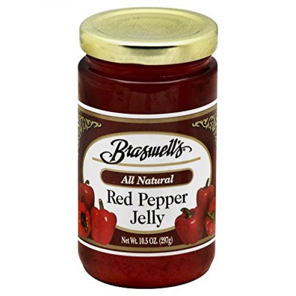 Braswells All Natural Jelly Red Pepper - 10.5 oz
