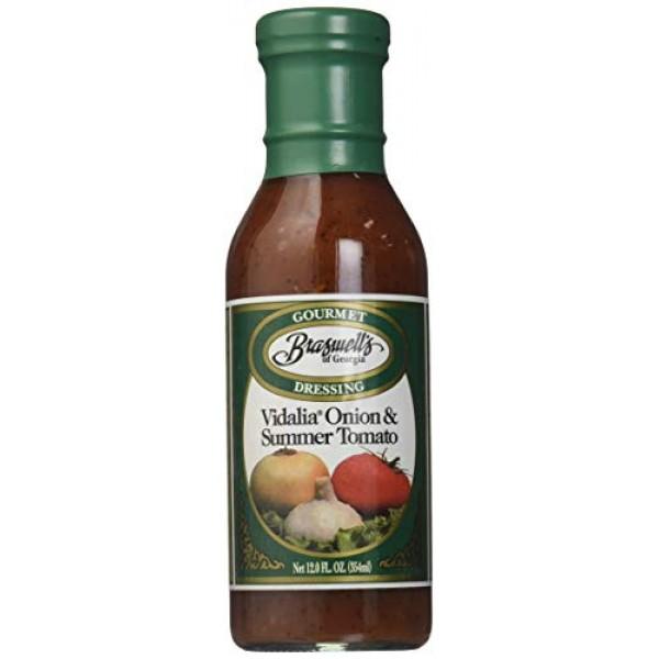 Braswells Vidalia Onion and Summer Tomato Gourmet Dressing, 12 O...