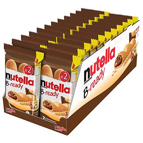 Nutella B-ready Wafer filled with Nutella 32 pieces T2 x 16