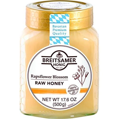 Breitsamer, Creamy Rapsflower Blossom Honey Jar, 17.6 oz
