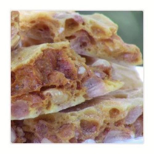 Brenda's Perfect Brittle - Reduced Sugar Peanut Brittle with Spl...