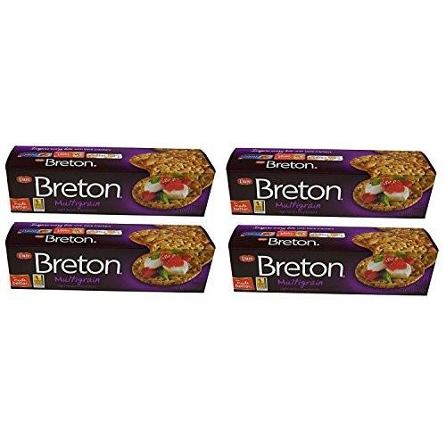 Dare Breton Crackers, Multigrain Party Snacks with no Artificial...