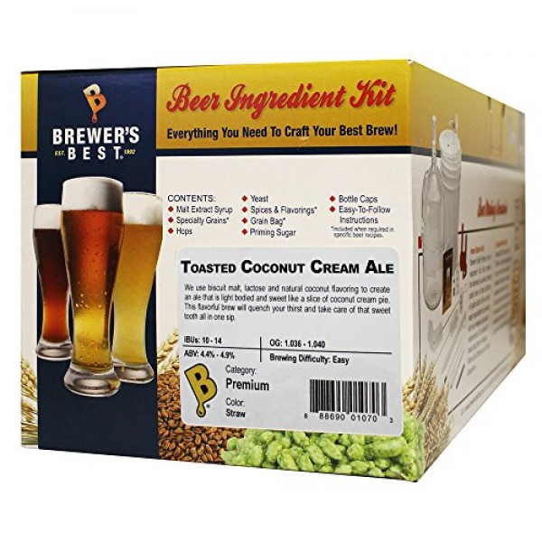 Brewers Best Home Brew Beer Ingredient Kit-5 gallonToasted Coc...