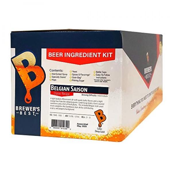 Brewers Best - Home Brew Beer Ingredient Kit 5 Gallon, Ameri...