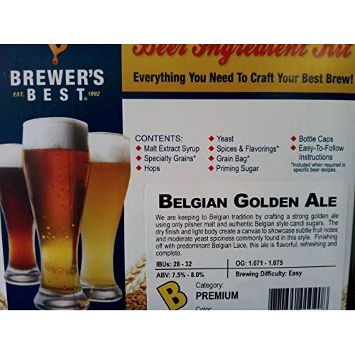 Brewers Best 1020 Belgian Golden Ale Ingredient Package Premium