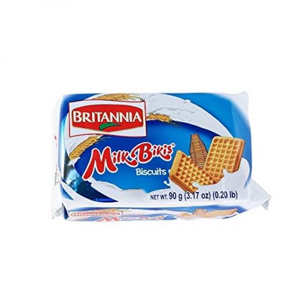 Britannia Milk Bikis Biscuits - 90g. Pack of 3