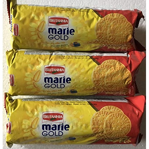 Britannia Marie Gold Tea Time Biscuits 150 Grams Export Pack Pa...