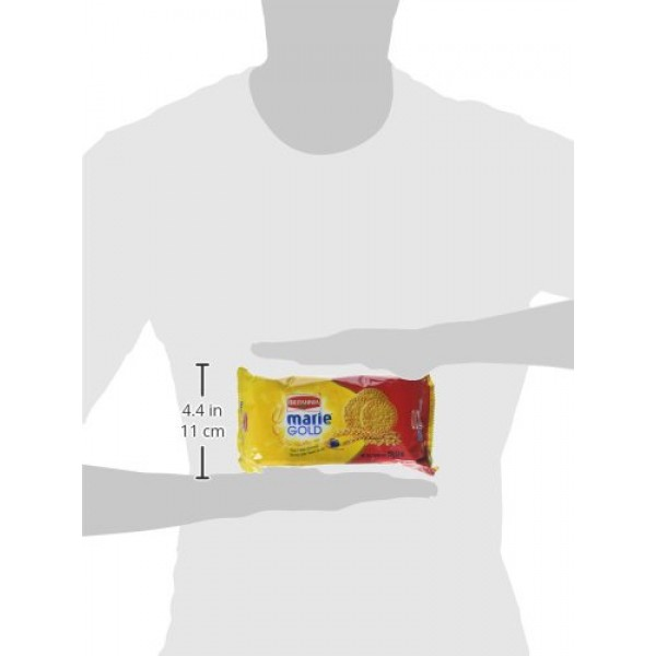 Britannia Marie Gold Tea Time Biscuits - 250g., 8.8oz. Pack of 4