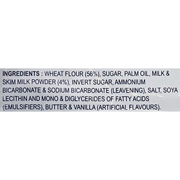 Britannia Milk Bikis Biscuits Value Pack 6x90 Grams
