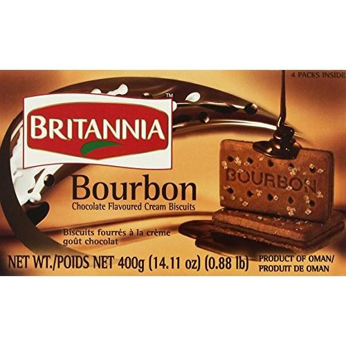 Britannia the Original Bourbon Chocolate Flavoured Cream Biscuit...