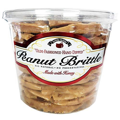 Brittle-Brittle Gourmet Peanut Brittle 42oz pack of 2