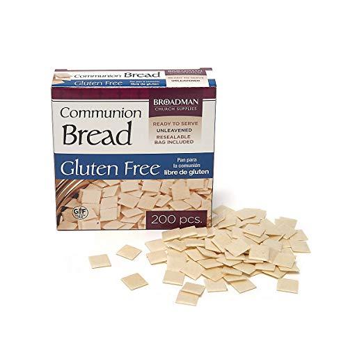 Broadman Church Supplies Staff Communion Bread - Gluten Free - P...