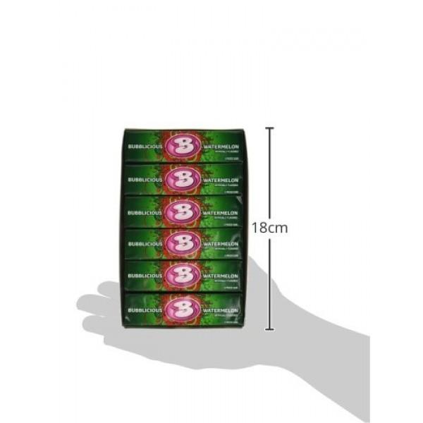 Bubblicious Watermelon Wave Bubble Gum 18 packs 5ct per pack