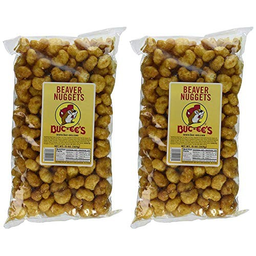 Buc-ees Famous Beaver Nuggets Sweet Corn Puff Snacks, 13 Ounces...