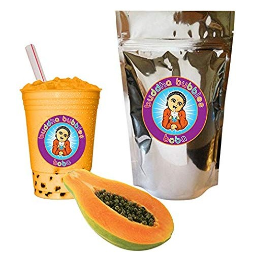 Papaya Boba / Bubble Tea Drink Mix Powder By Buddha Bubbles Boba...