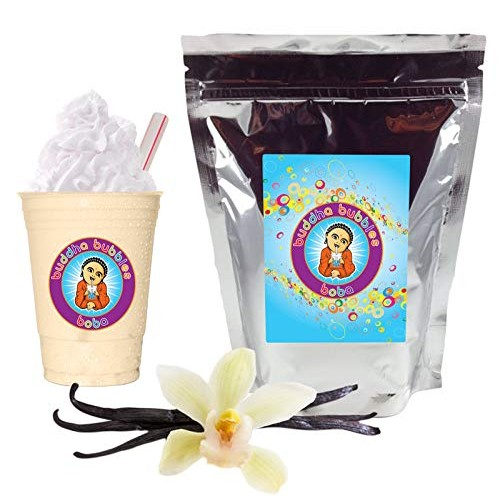 Vanilla Latte Boba / Bubble Tea Drink Mix Powder By Buddha Bubbl...