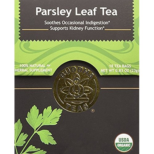 Organic Parsley Leaf Tea - Kosher, Caffeine Free, GMO-Free 2 Pack