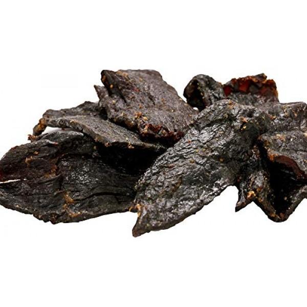 Buffalo Bills 16oz Premium Hickory Beef Jerky Pieces hickory sm...