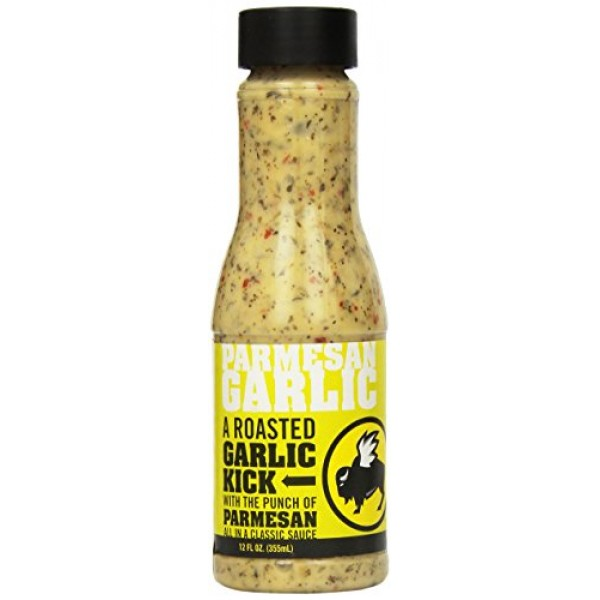 Buffalo Wild Wings Sauce Parmesan Garlic, 12 Ounce