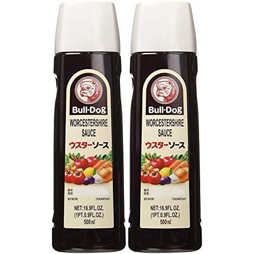 Bull-Dog Worcestershire Sauce 16.9 Fl. Oz. 2 Bottles