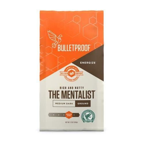 Bulletproof The Mentalist Ground Coffee, Premium Gourmet Medium ...