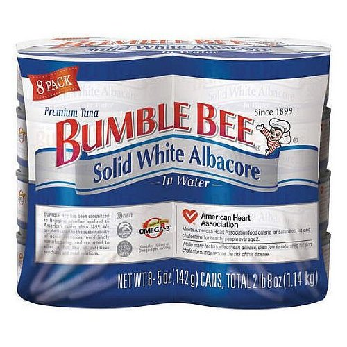 Bumble Bee Solid White Albacore In Water 5 Oz Pack Of 8